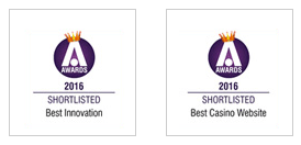 Best Innovation Website - Best Casino Website - Awards