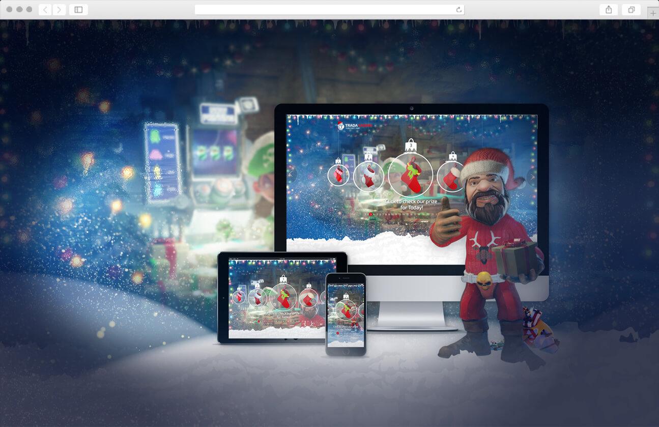 Responsive web design - Christmas Calendar