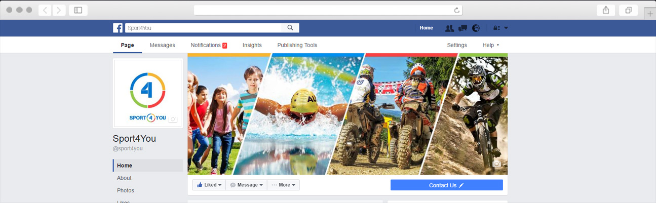 Custom Facebook Page Design
