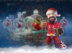 Christmas Calendar Web Design