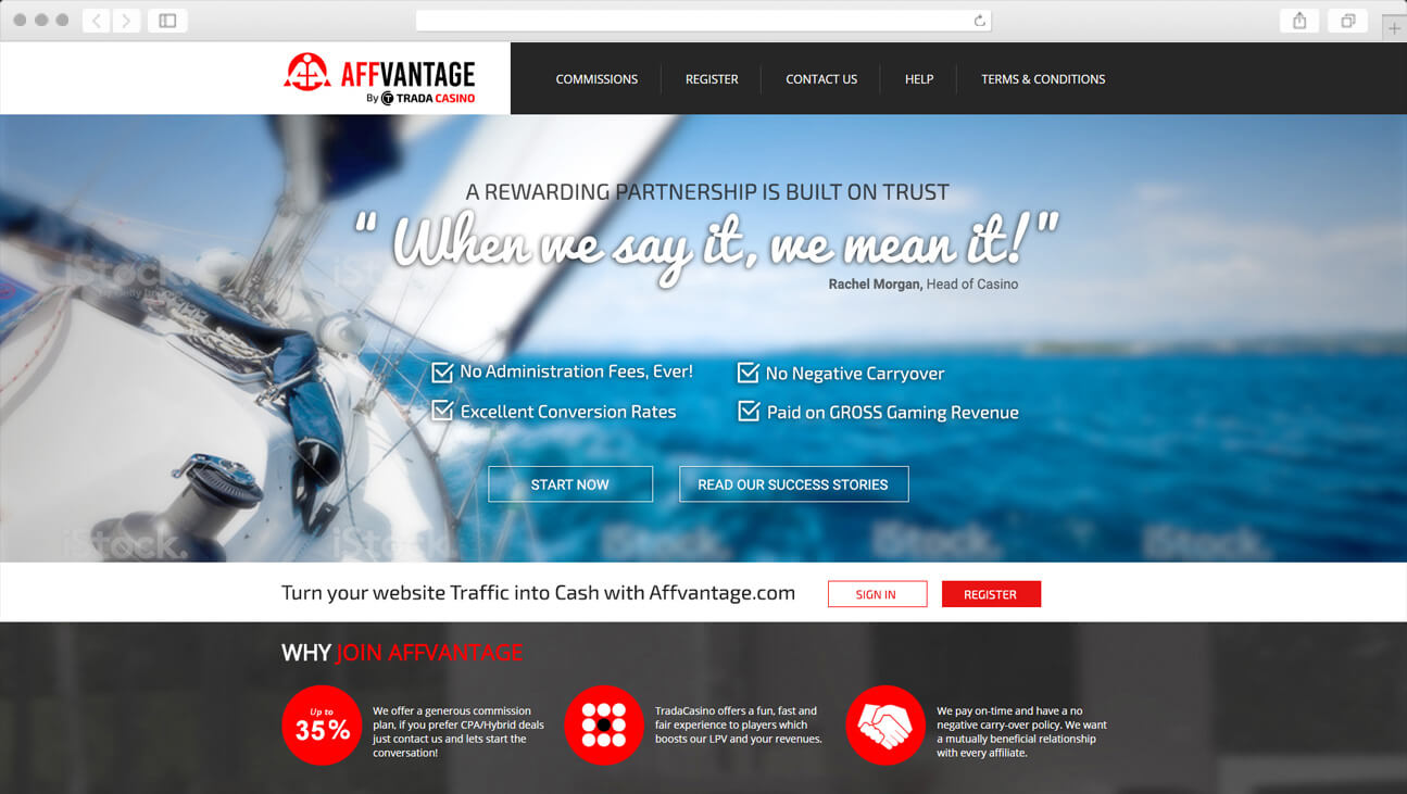 Web Design & Branding - Affvantage