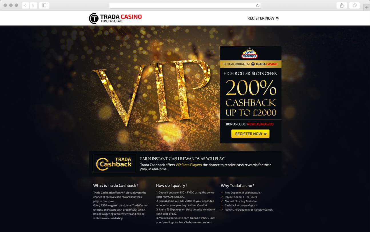 VIP Web Design Landing Page