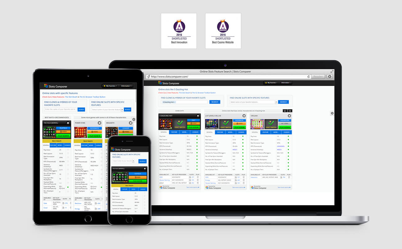 Web Design Case Study - slotscomparer.com